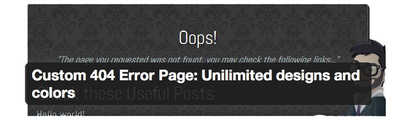 plugin error 404