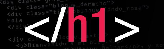h1 html