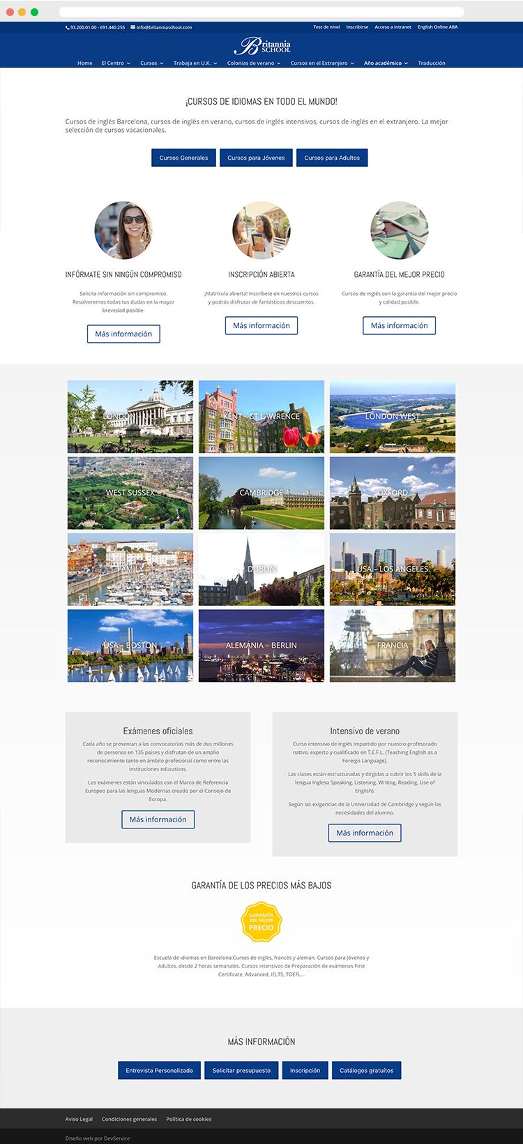 proyecto-web-britanniaschool