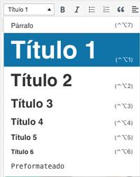 tamaño tipografías h1, h2, h3