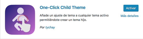 plugin child theme