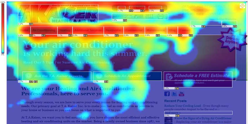 mouse over heatmap